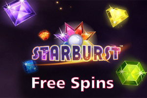 starburst free spins logo